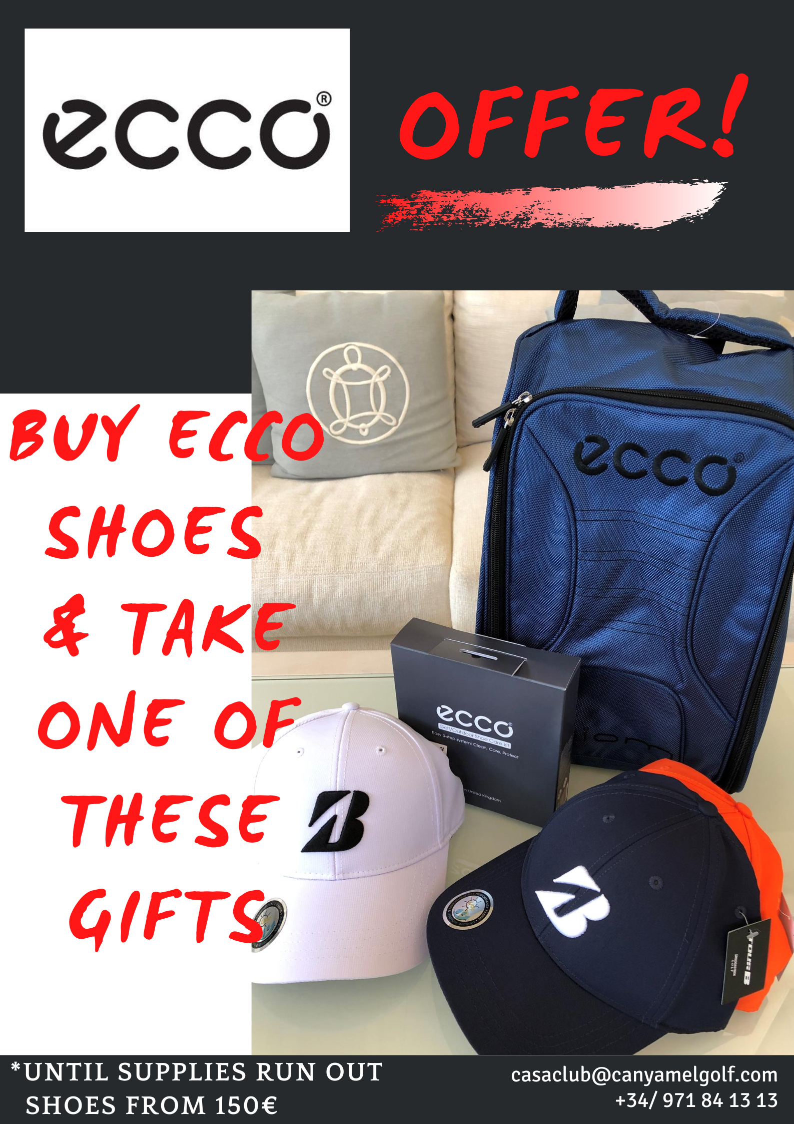 buy ecco shoes take one of this gift