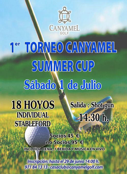 1r Canyamel Summer Cup